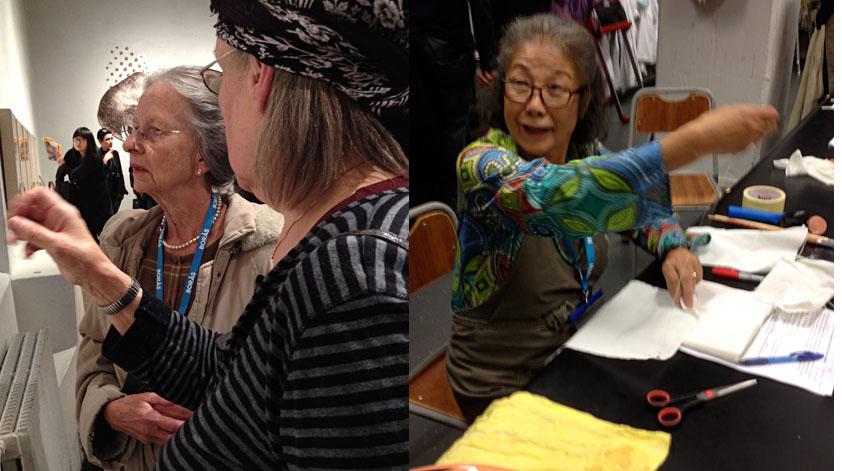 yoshilo wada, natural dyeing, Joy Botrupp, weeflab